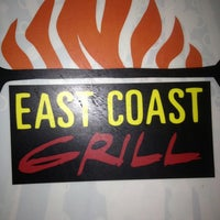 Photo taken at East Coast Grill & Raw Bar by EJ P. on 1/12/2013