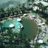 Photo taken at Hard Rock Hotel & Casino VIP Lounge by Jesus C. on 8/1/2011