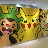 Photo taken at Pokémon Center Osaka by Chaaa on 7/13/2014
