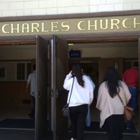 Photo taken at St. Charles Catholic Church by Winnie R. on 5/23/2016