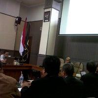 Photo taken at Gedung Rektorat by Seprina A. on 12/14/2012