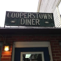 Photo taken at Cooperstown Diner by Harry R. on 5/26/2013