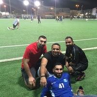 Photo taken at ملاعب كرة القدم - منطقة مشرف by Ali A. on 10/21/2014