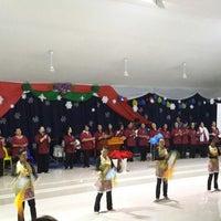 Photo taken at SIB NARAWANG (Gereja Atas Bukit) by Vera M. on 12/22/2013
