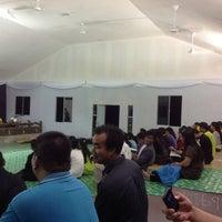 Photo taken at SIB NARAWANG (Gereja Atas Bukit) by Vera M. on 5/31/2013