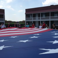 Photo taken at Fort McHenry National Monument and Historic Shrine by Ashli A. on 7/17/2013