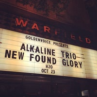 Photo taken at The Warfield Theatre by Brian W. on 10/24/2013