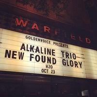 Photo prise au The Warfield Theatre par Brian W. le10/24/2013