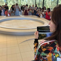 Photo taken at Apple Park Visitor Center by Brian W. on 8/5/2018
