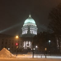 Photo taken at Wisconsin State Capitol by Brian W. on 12/18/2016