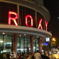 Photo taken at Cinema Roxy by Felipe C. on 1/16/2013