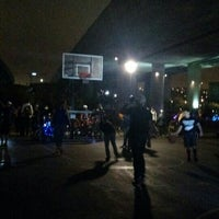 Photo taken at Berry Basketball Courts by Tomomi I. on 7/4/2015