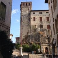 Photo taken at Castello Pretorio by Cristiano M. on 9/1/2013