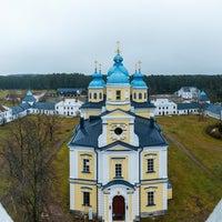 Photo taken at Коневецкий монастырь by Alexey S. S. on 11/24/2016