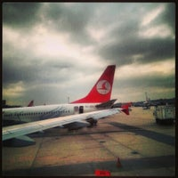 Photo taken at Istanbul Atatürk Airport (IST) by Nasip E. on 11/1/2013