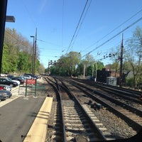 Photo taken at SEPTA Overbrook Station by Joe K. on 5/1/2013