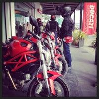 Photo taken at Ducati Ratchaphrurek by Nii K. on 7/4/2014