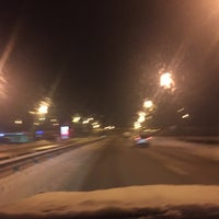 Photo taken at объездная Твери в С-Пб by Max K. on 2/22/2016