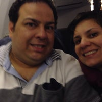 Photo taken at American Airlines AA 218 by Arlene V. on 9/27/2013