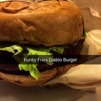 Photo taken at Funky Fries and Burgers by Fermin T. on 11/5/2016