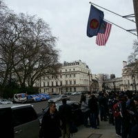 Photo taken at High Commission of Malaysia by Farhanudin on 4/28/2013