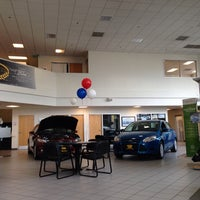 Photo taken at Future Ford Lincoln of Concord by Rj S. on 2/18/2014