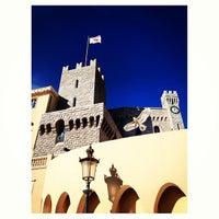 Photo taken at Palais Princier de Monaco by Ahmad A. on 1/18/2013