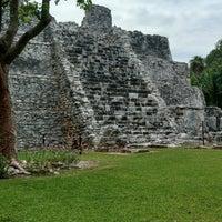 Photo taken at Zona Arqueológica El Meco by Waldo C. on 7/5/2017