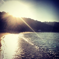 Photo taken at Canyelles Beach by Helena C. on 7/26/2013