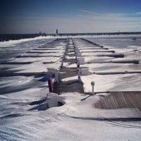 Photo taken at Sheboygan Harbor Center Marina by LeVar B. on 2/22/2014