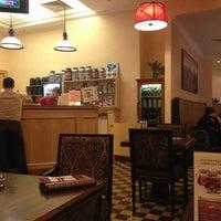 Снимок сделан в Кафе и суши-бар фитнес-клуба «Онѣгинъ» пользователем Olga T. 3/9/2013