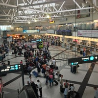 Photo taken at Budapest Liszt Ferenc International Airport (BUD) by Vincu B. on 7/5/2013