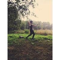 Photo taken at Järva Discgolf Park by Azin A. on 8/17/2014