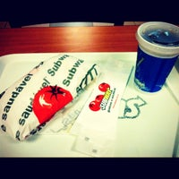 Photo taken at Subway by Luis Henrique A. on 11/9/2012