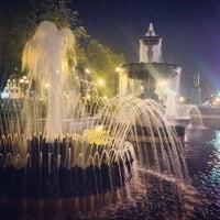 Снимок сделан в Пушкинская площадь пользователем Daria O. 5/11/2013
