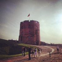 Photo taken at Gediminas' Tower of the Upper Castle by Daria O. on 7/27/2013