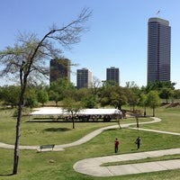 Photo taken at Spotts Park by Danny Z. on 3/26/2013