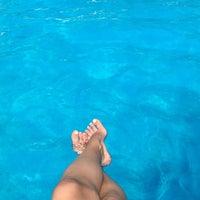 Photo taken at Pool Mediterraneo by Eseniya L. on 8/28/2017