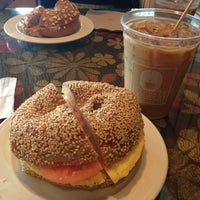 Photo taken at Uncommon Grounds Coffee & Bagels by Aimee N. on 7/21/2013