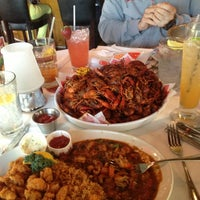 Photo taken at Pappadeaux Seafood Kitchen by Andrew T. on 3/25/2013