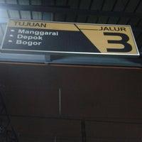 Photo taken at Stasiun Tanah Abang by Feby d. on 4/2/2013