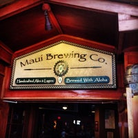 Photo taken at Maui Brewing Co. Brewpub by David S. on 5/7/2013