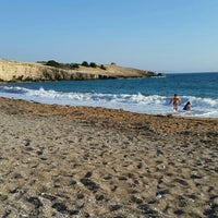 Photo taken at Fourni Beach by Alexandru L. on 8/25/2015