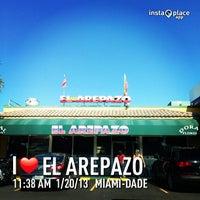 Photo taken at El Arepazo by LaTati on 1/20/2013