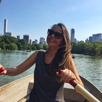 Photo taken at Central Park Rowboat by Ewo on 7/16/2017