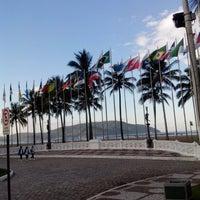 Photo taken at Praça das Bandeiras by Marco N. on 6/17/2013