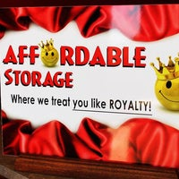 ... Photo Taken At Affordable Self Storage By Michael P. On 4/23/2013 ...