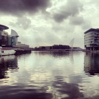 Photo taken at Salford Quays by Ayush S. on 3/21/2013
