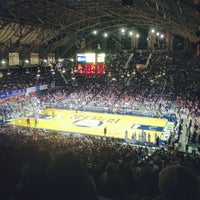 Photo taken at Hinkle Fieldhouse by Jeff S. on 11/4/2012