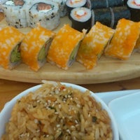 Photo taken at Sushihana by Patricia A. on 1/6/2013
